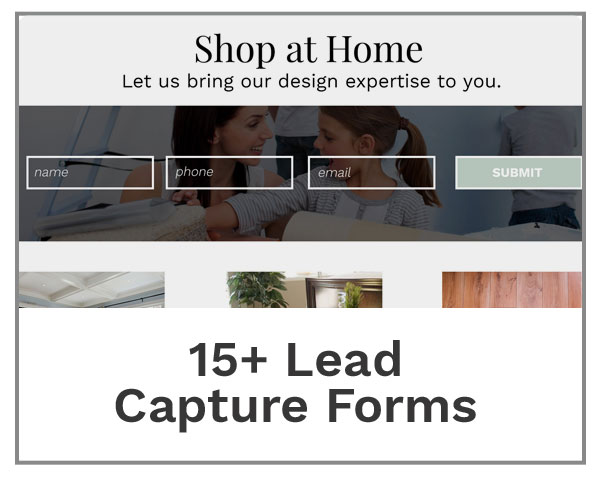 Lead Capture Forms