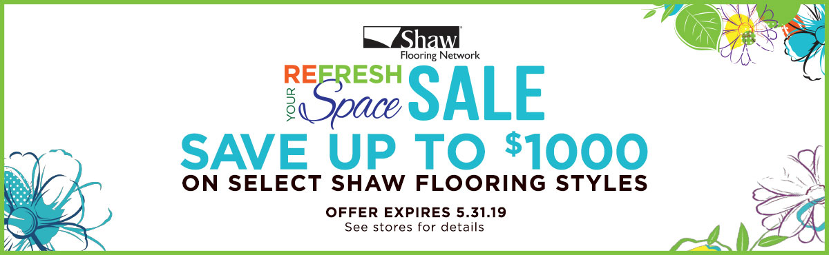 Shaw Refresh Your Space