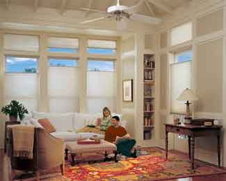 Hunter Douglas - Applause® honeycomb shades with Standard Cordlock