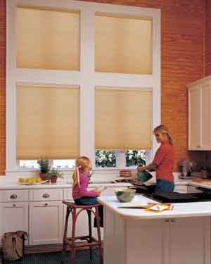 Hunter Douglas -Applause® honeycomb shades with EasyRise™  cord loop