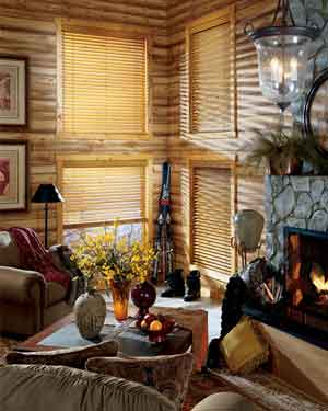 Hunter Douglas Style: Country Woods blinds